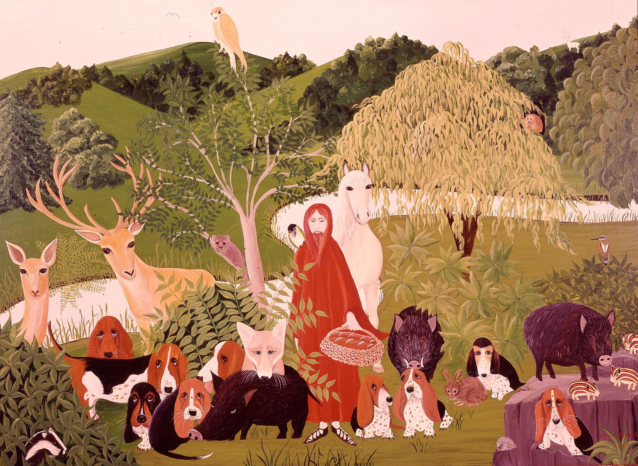 Nun with Animals