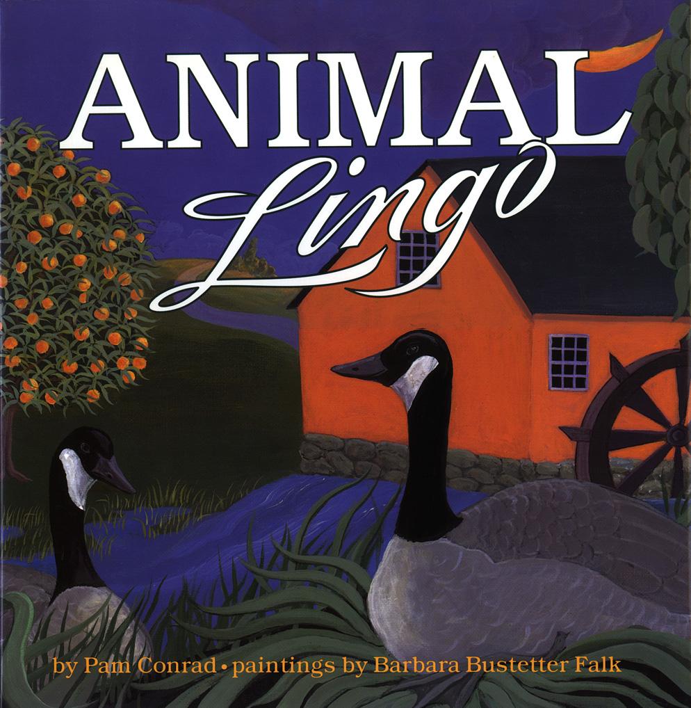 Book cover - Animal Lingo