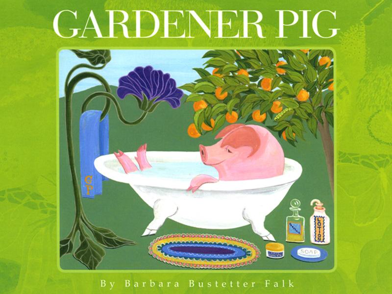 Gardener Pig book cover